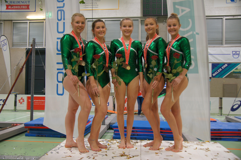 Schweizermeisterschaft Geräteturnerinnen Mannschaften Winterthur