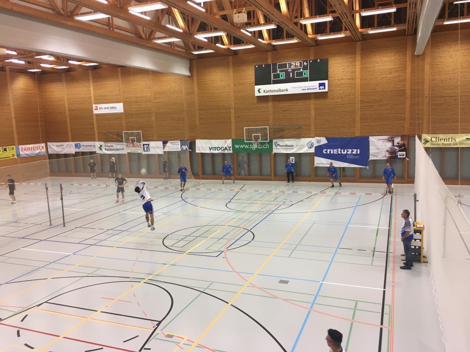 Faustball-Hallenturnier 2018
