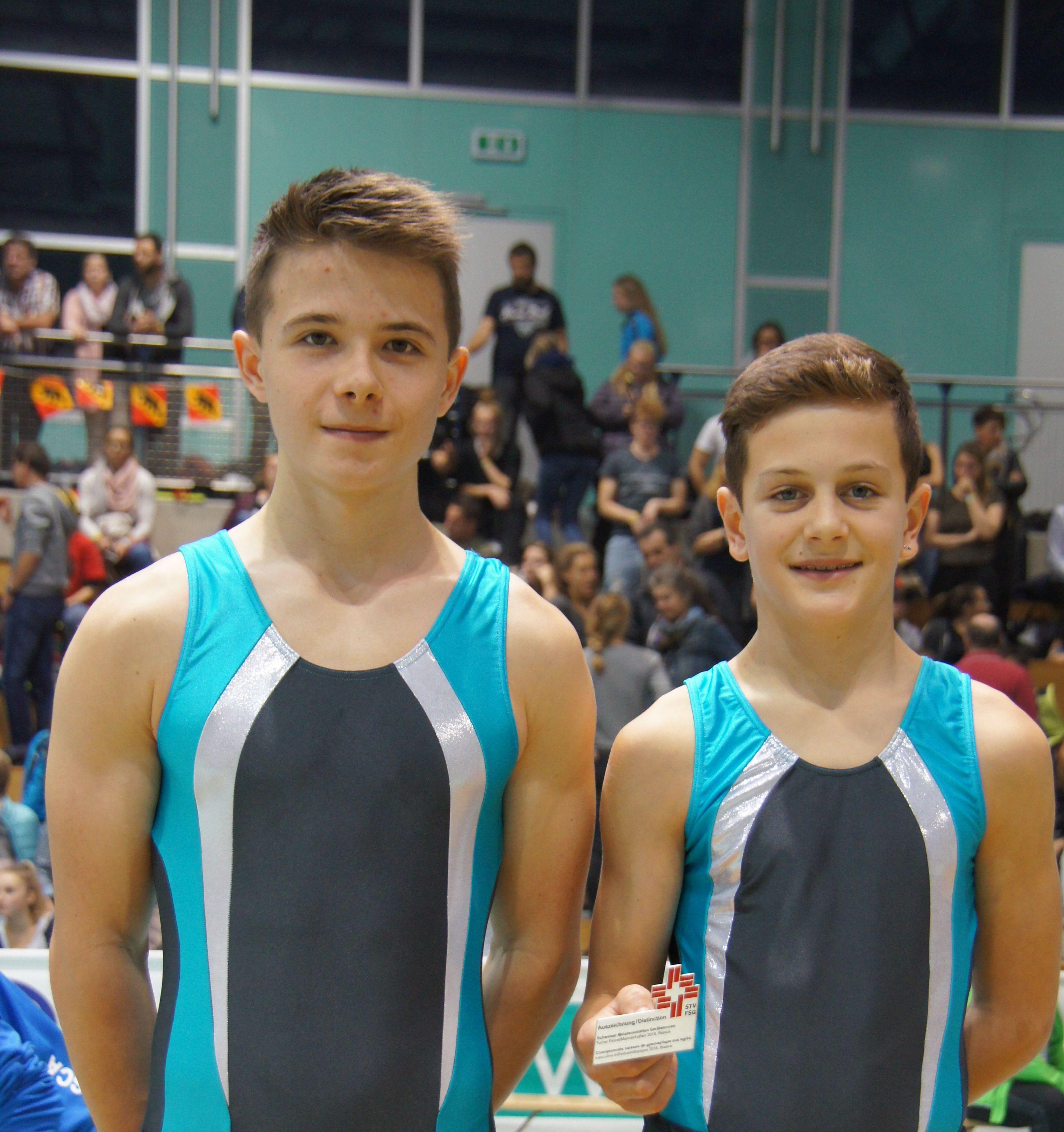 Schweizermeisterschaften Geräteturnen Turner in Biasca/TI