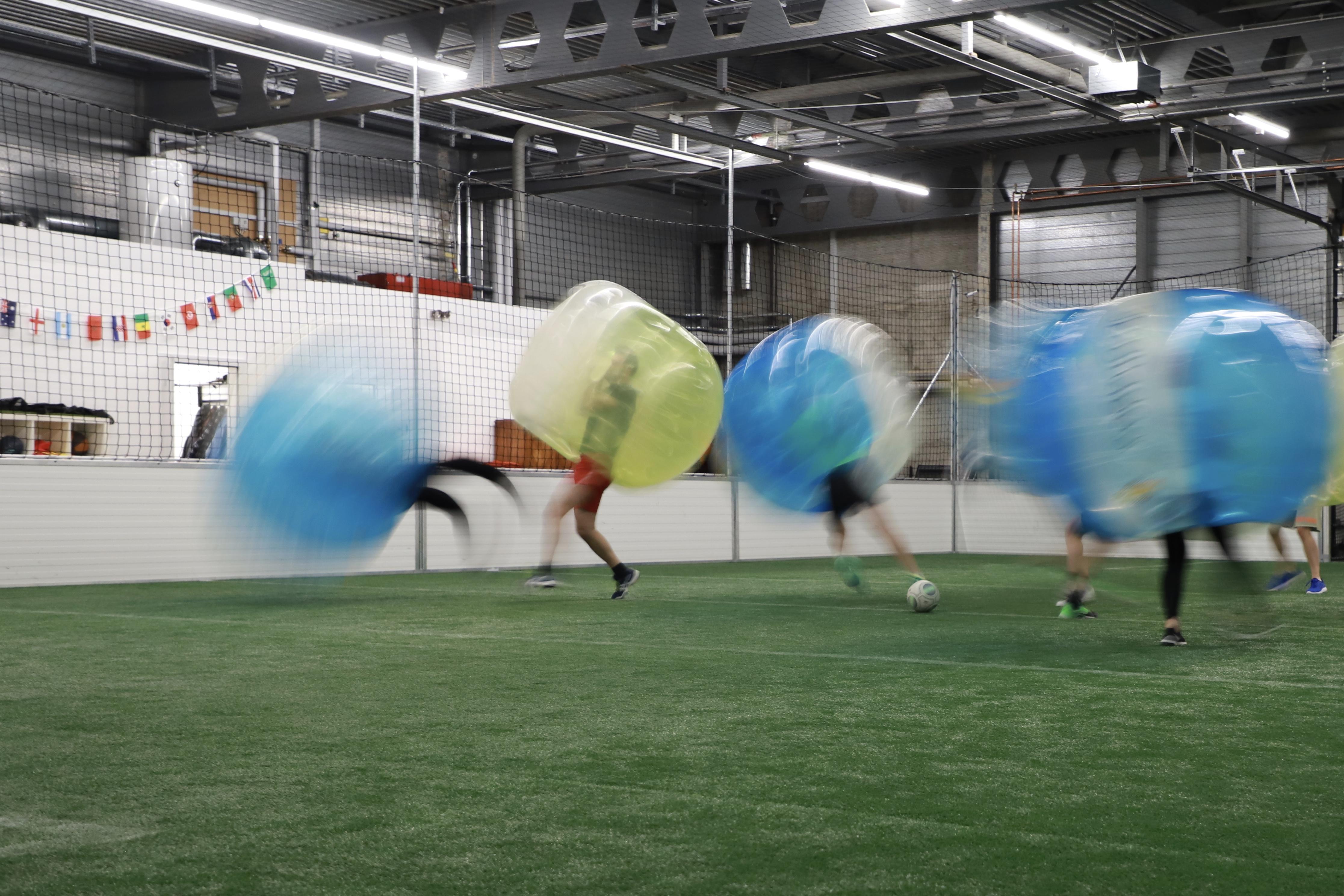 Bubble-Soccer Plausch