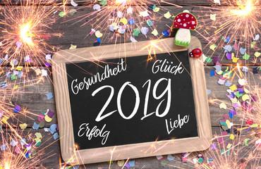 Neujahrsbegrüssung 2019