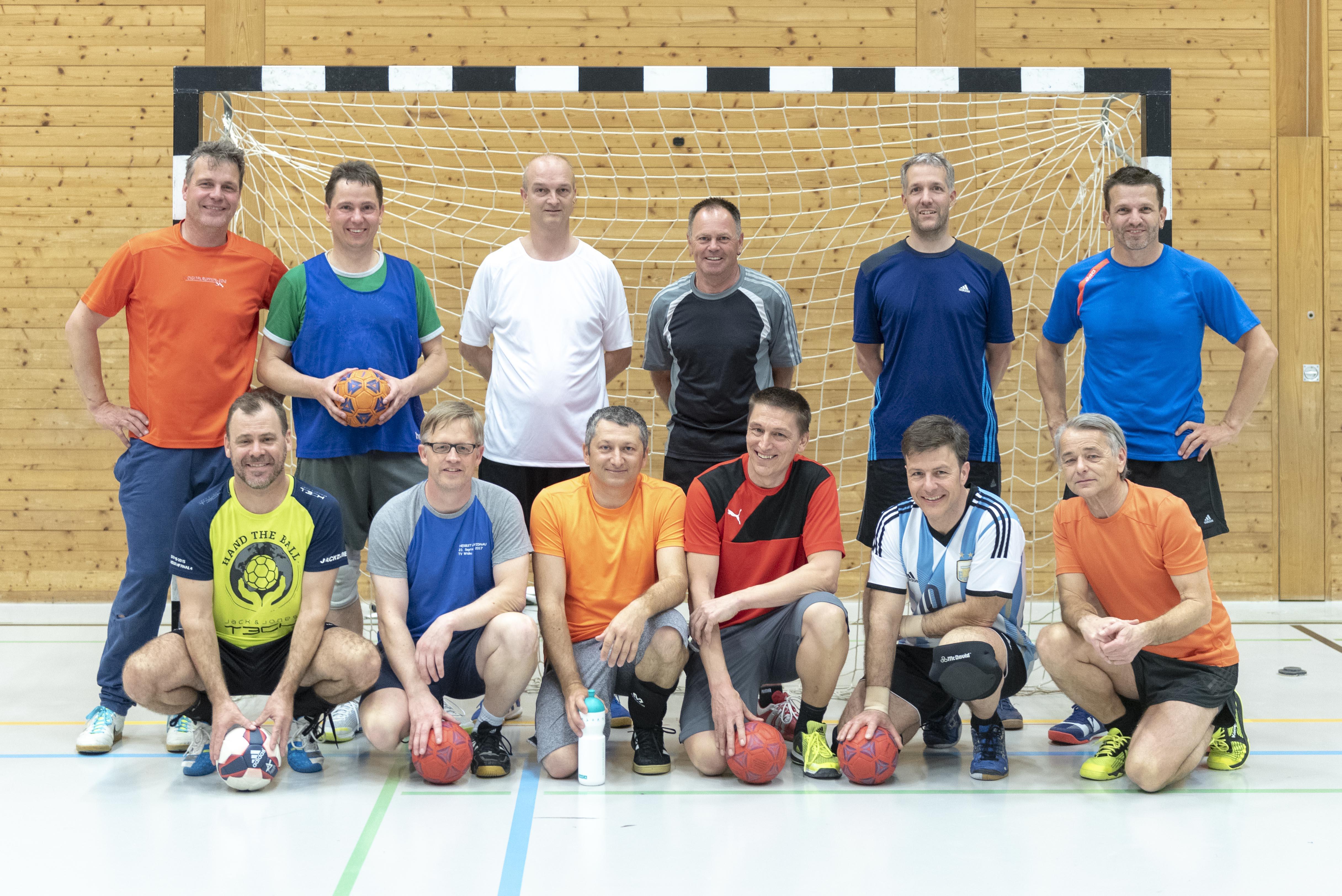 Handball mit Gabor