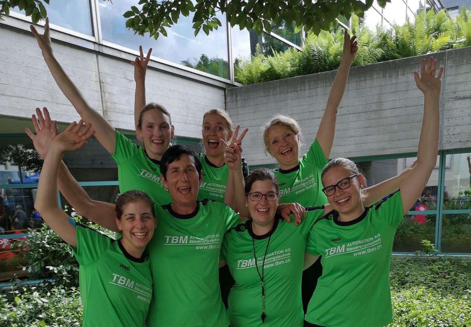 Silber für die Netzballerinnen am ETF 2019 in Aarau